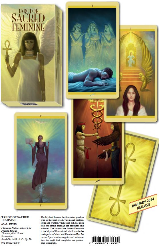 Tarot Of Sacred Feminine (karty)