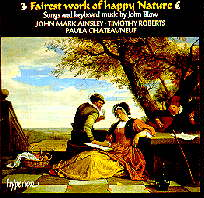 John Blow: Fairest Work of Happy Nature
