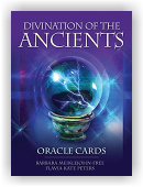 Divination of the Ancients Oracle Cards (kniha + karty)