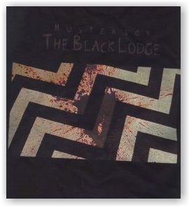 MUSTERION: The Black Lodge (t-shirt)