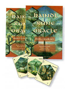 HAINDL RUNE ORACLE DECK/BOOK SET