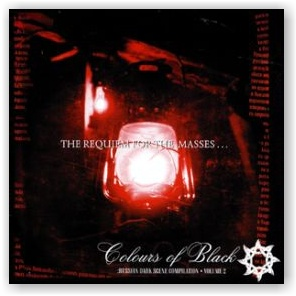 COLOURS OF BLACK: Russian dark scene compilation, vol. 2 (2CD)