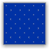 Divination Table Cloth: Moon & Stars